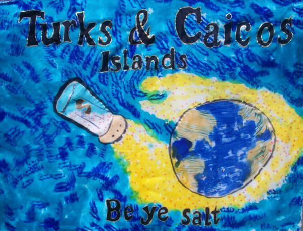 Turks & Caicos Islands Prophetic Flag