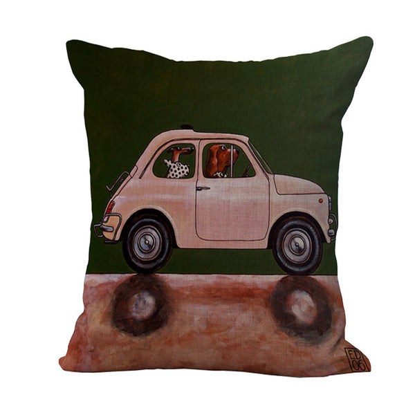 AUTOMOBILE Theme Pillows