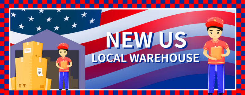 Good news to United States consumer —— We added a US warehouse!