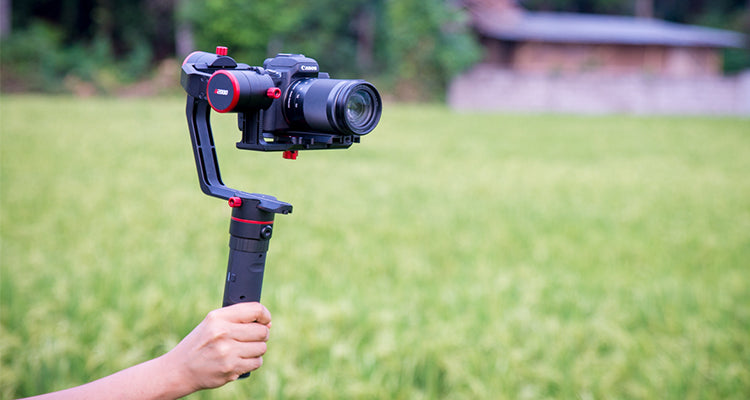 FeiyuTech a2000 3 Axis Gimbal DSLR Camera Stabilizer — Shoot like a pro with ease!