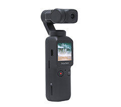 Compact, 4K Video, 512G Storage, 120 Degree View, 6-axis Stabilization, Time Lapse, Touch Screen, Long Battery Life