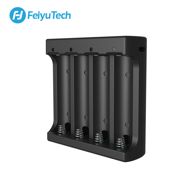 FeiyuTech Gimbal Charger for 18650 Batteries 2200mAh 3.7V for Feiyu AK2000 AK4000 DSLR Handheld Gimbal