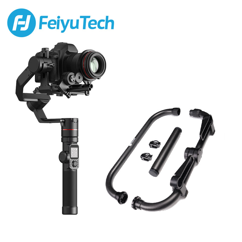 FeiyuTech AK4000 DSLR Camera Stabilizer Gimbal for Sony/Canon/Panasonic/Nikon Payload 4.0KG(AK2000 Upgraded Version)