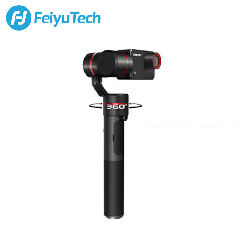FeiyuTech Summon+ 3-Axis Stabilized Handheld 16MP Camera, 4K Stabilized Video