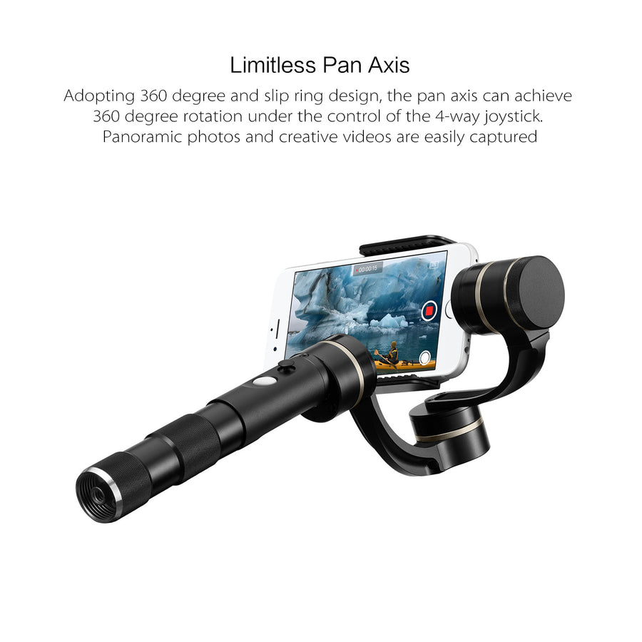 FeiyuTech G4 Pro 3-Axis Stabilized Handheld Gimbal for iPhone