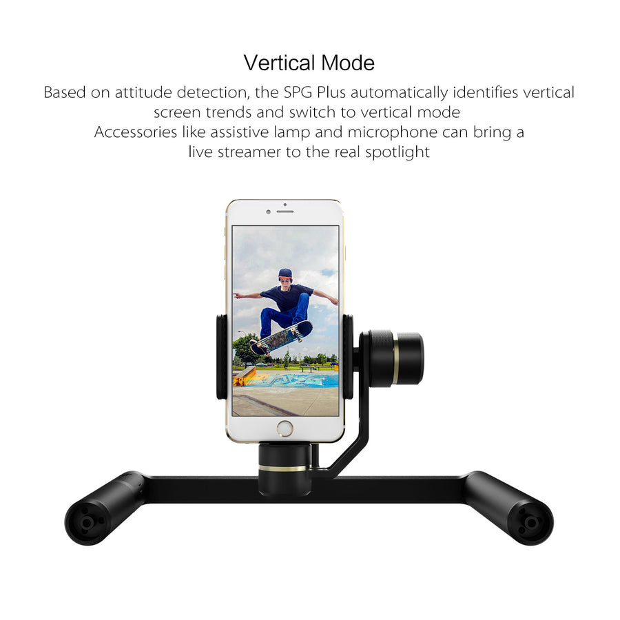 FeiyuTech SPG Plus 3-Axis Dual Handle Smartphone Gimbal Doubled Stability