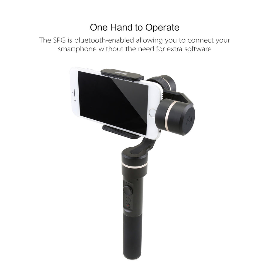FeiyuTech SPG 3-Axis Gimbal Precisely Adaptable for iPhone Smart Phones and Sports Cameras