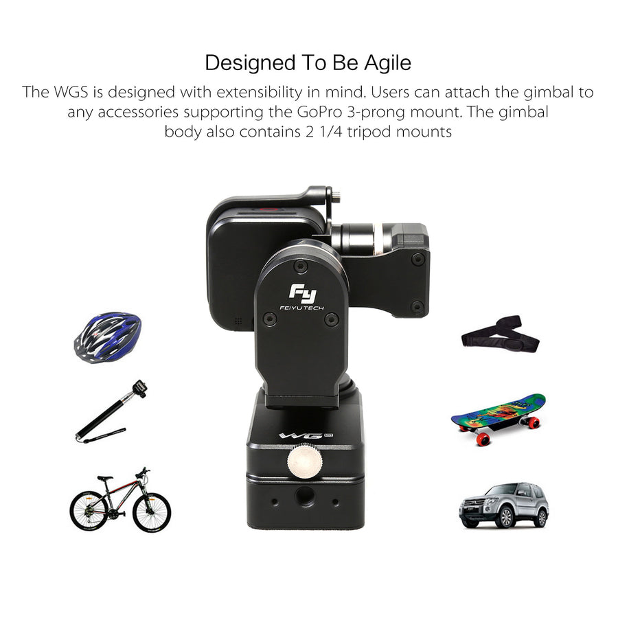 FeiyuTech WGS 3-Axis Wearable Gimbal for GoPro Session