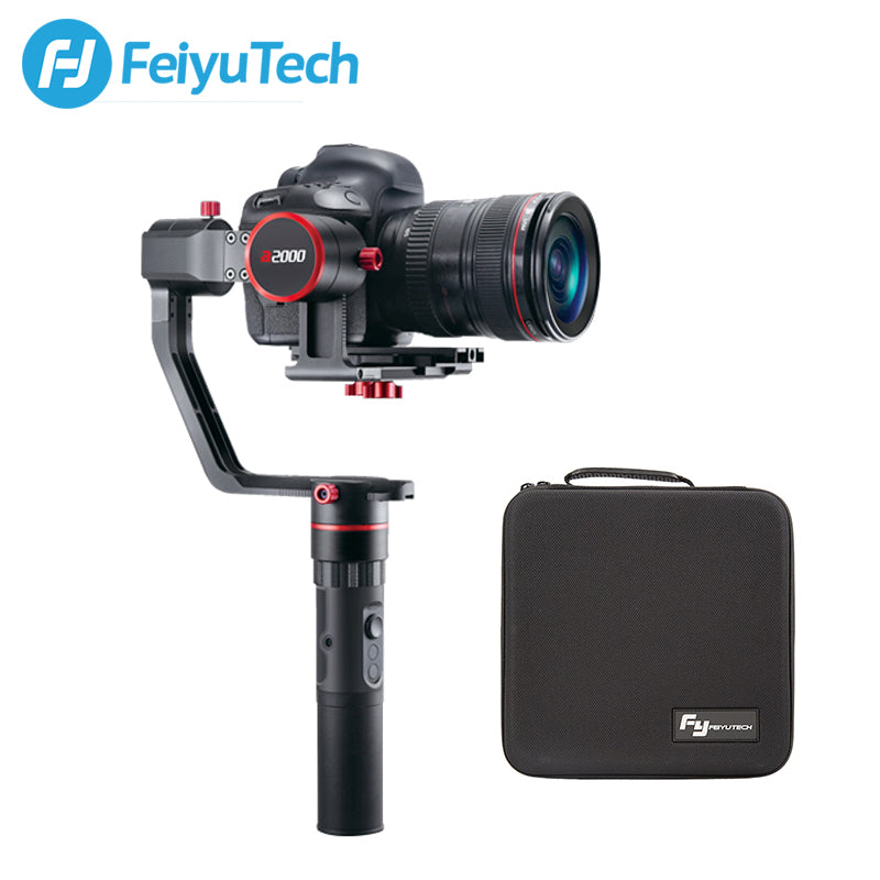 FeiyuTech a2000 for Mirrorless DSLR Cameras,2 KG Payload b00a16bfeb7e