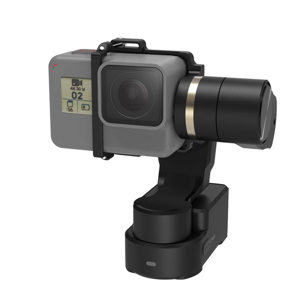 Feiyu WG2X Wearable Action Camera Brushless Gimbal Stabilizer for GoPro 8/7/6/5/Yi 4K/RX0/RX0 Ⅱ(RX0 Series Required RX0 Mount)/SJCAM/AEE Action Camera
