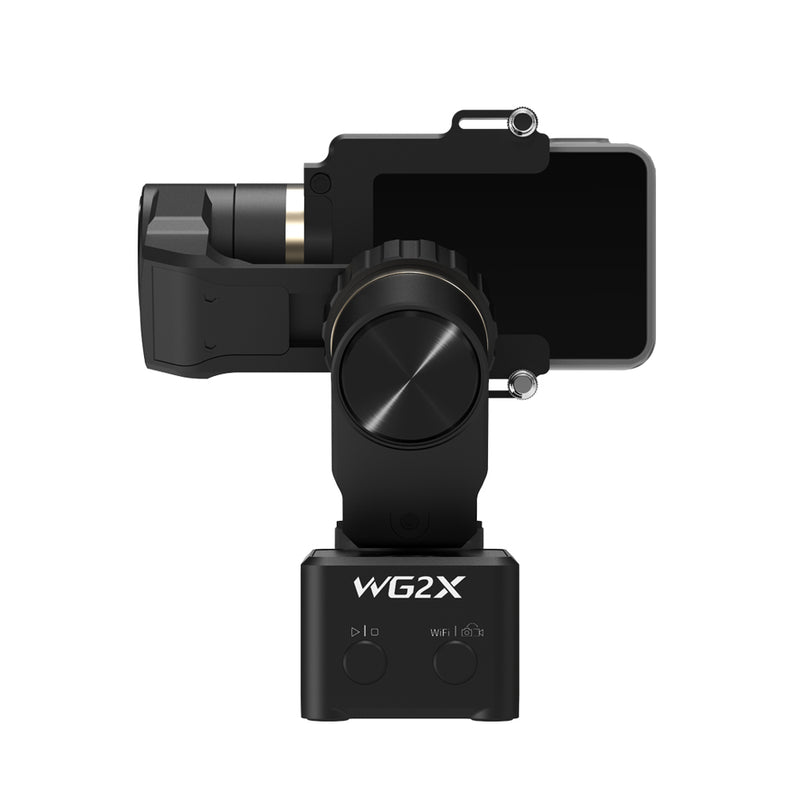 (Used-Very Good) FeiyuTech WG2X Wearable Action Camera Brushless Gimbal Stabilizer for GoPro 8/7/6/5/Yi 4K/RX0/RX0 Ⅱ(RX0 Series Required RX0 Mount)/SJCAM/AEE Action Camera