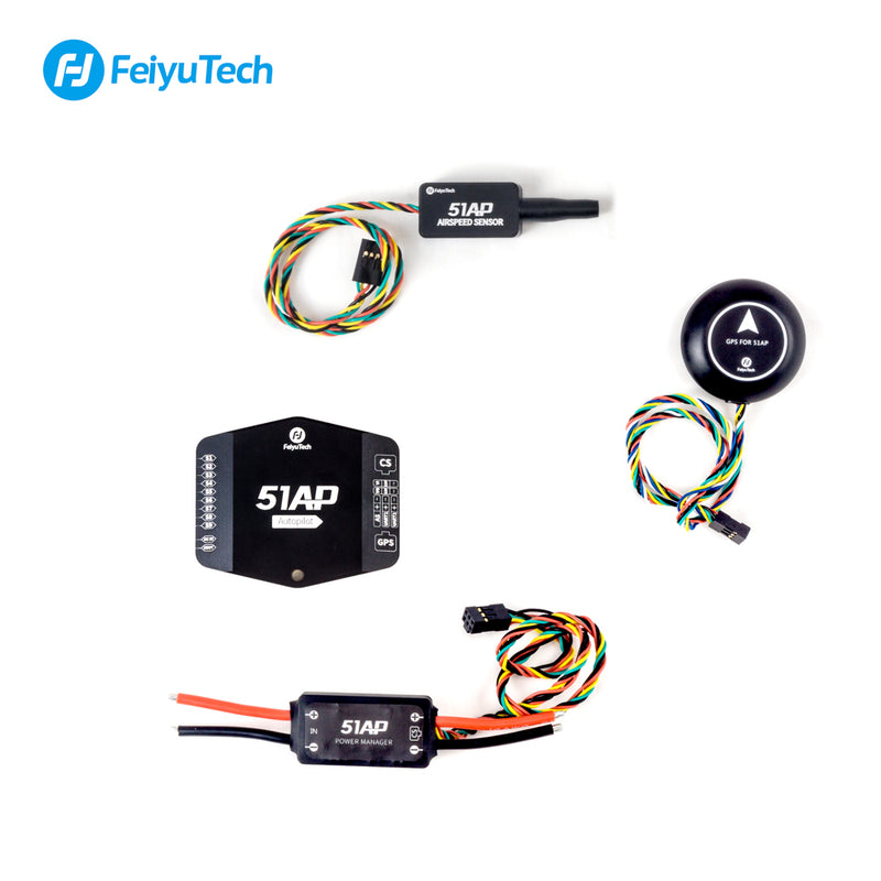 FeiyuTech FY-51AP Flight Controller For Fixed Wing aerial photography Uav Drone Rc Plane FPV