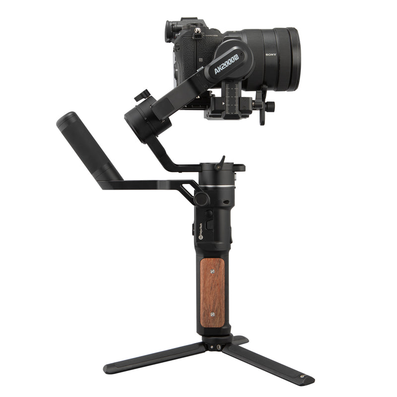 Feiyutech AK2000 3-Axis stabilized Handheld Gimbal Stabilizer for Nikon//Sony//Canon Series DSLR Digital Camera,LCD Touch Screen,WiFi+Bluetooth,2.8kg Payload with Extra Battery and Extension Rod