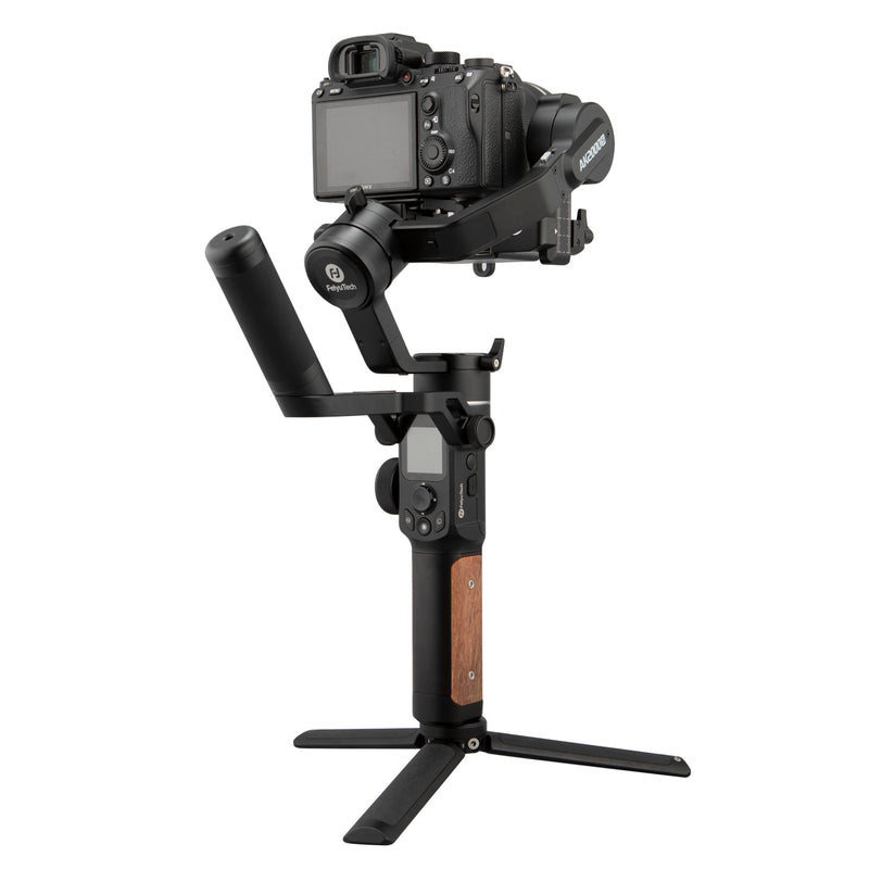 FeiyuTech AK2000S 3-Axis USB/Wi-Fi Control Handheld Stabilized Gimbal for Sony/Canon/Panasonic/Nikon/Fujifilm Mirrorless/DSLR Camera