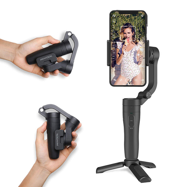 FeiyuTech VLOG Pocket Foldable Smartphone Gimbal for iPhone 11/11pro/11pro/ Xs/Xs Max/Xr/X/Android Phone etc.