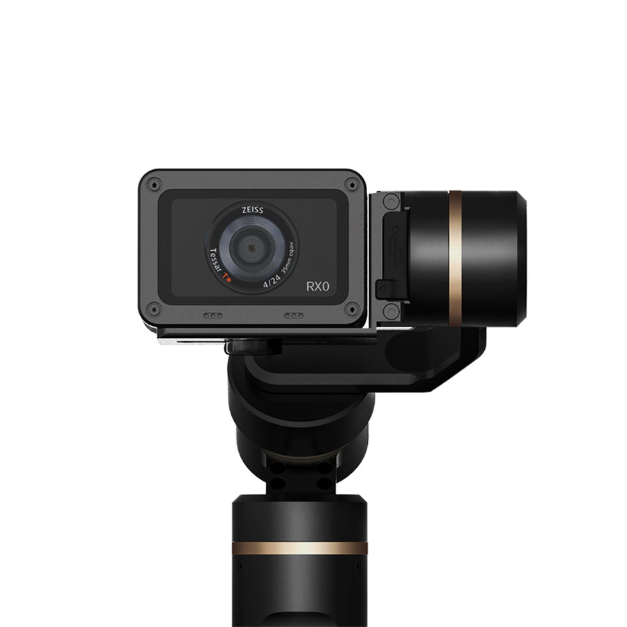 FeiyuTech G6 Gimbal for Action Camera Update Version of G5 Wifi + Blue Tooth OLED Screen Elevation Angle for Hero 6 5 4 RX0