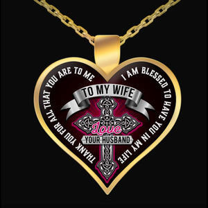 Necklace - I AM BLESSED TO HAVE YOU IN MY LIFE