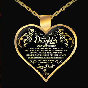 Necklace - TO MY DAUGHTER