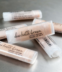 Limited Edition Dear Katie Brown Glitter Balms