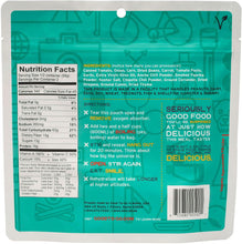 Good To Go Smoked Three Bean Chili Dehydrated Meal- 1 or 2 Serving Size