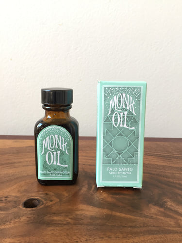 Monk Oil Palo Santo Skin Potion
