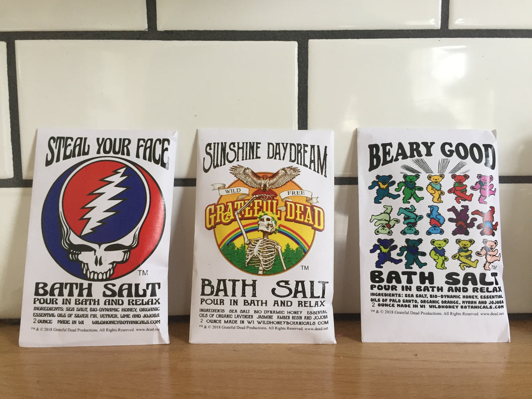 Grateful Dead Bathing Salt