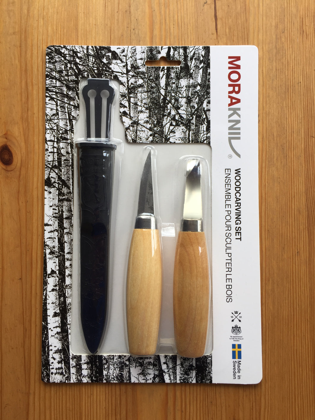 Mora Carving Knife Set