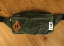 Drifter Medium Waxed Canvas Hip/Fanny Pack- Multiple Colors