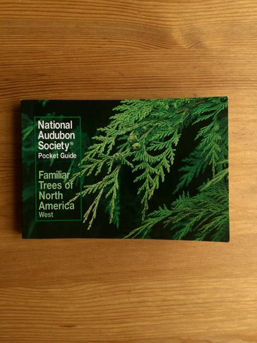 Familiar Trees of North America (West)  Pocket Guide Book