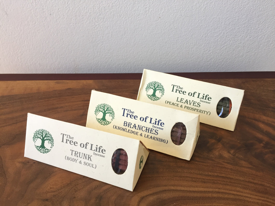 Tree Of Life Incense- 3 different scents