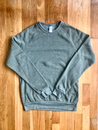 Heather Olive Crewneck Sweatshirt