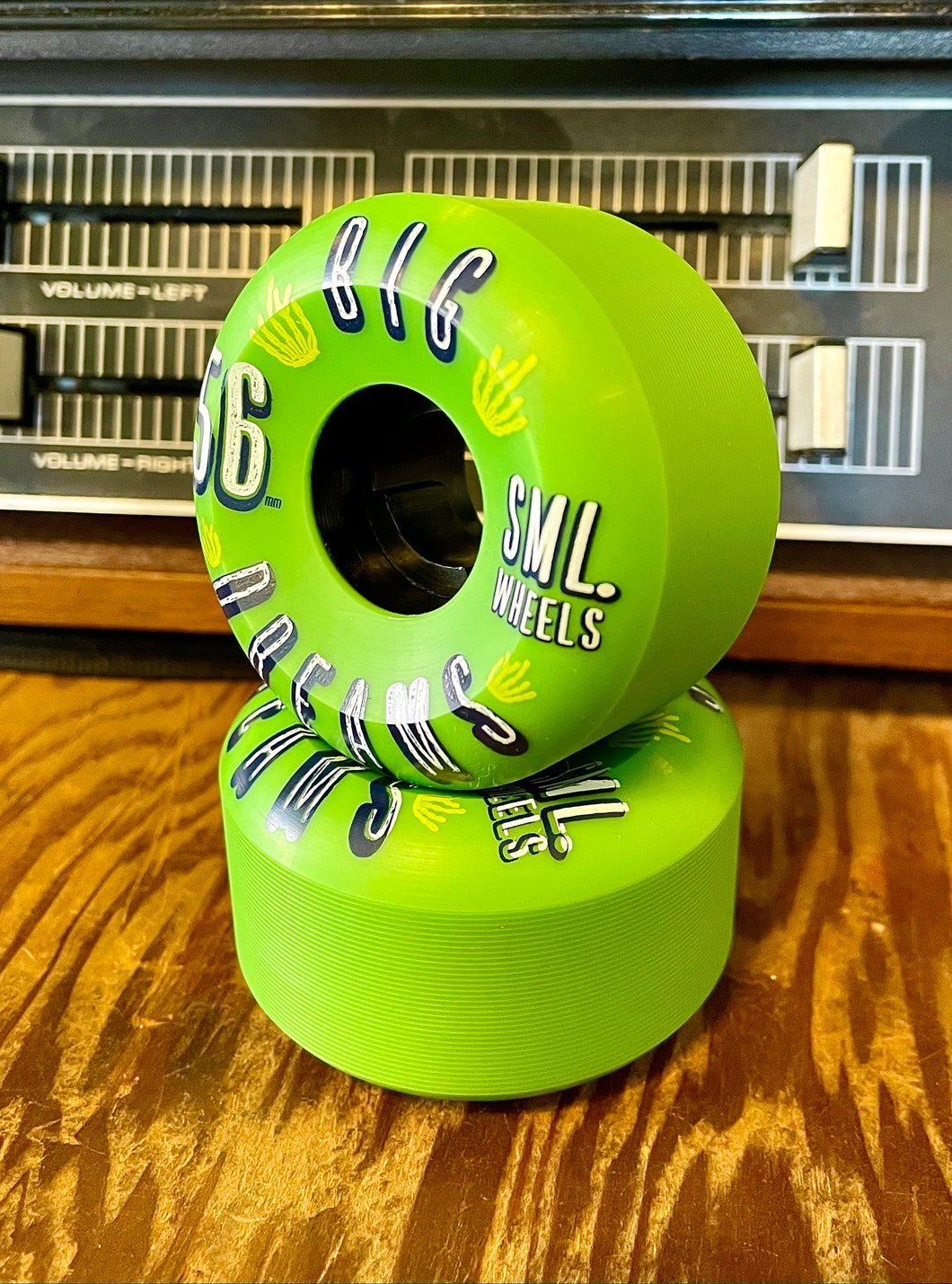 SML Big Dreams Skateboard Wheels 56mm, 92a