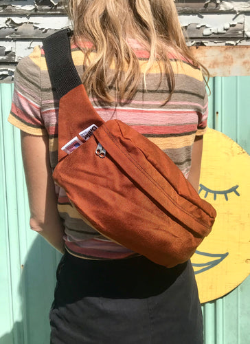 Drifter Large Crossbody/ Hip Bag- 3 colors