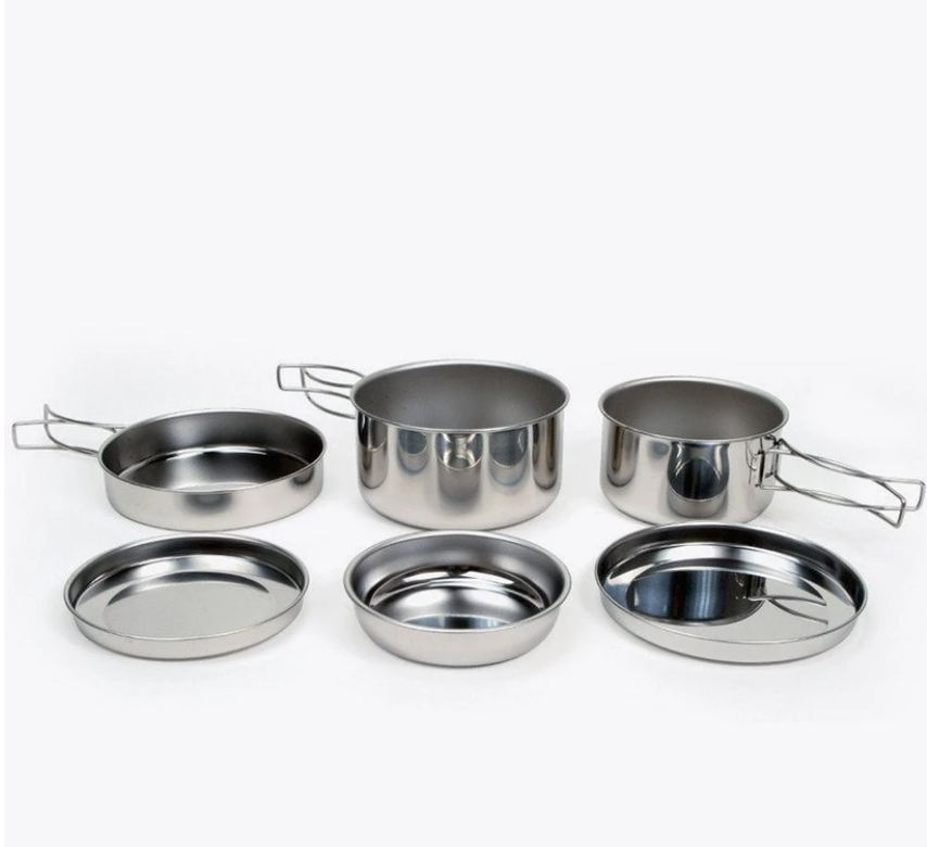 Snow Peak Personal Cooker 3 Cookset