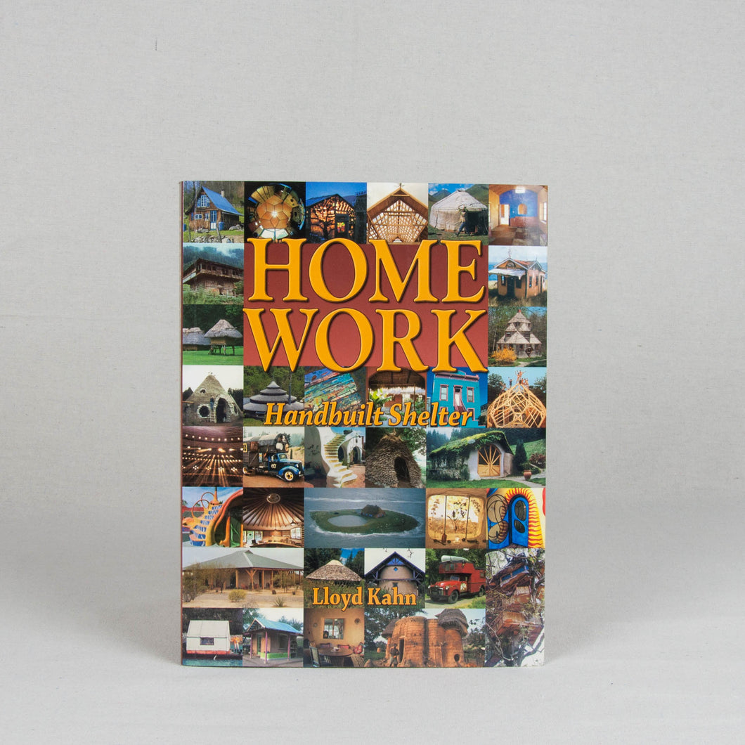 Home Work Hand Made Shelter Book
