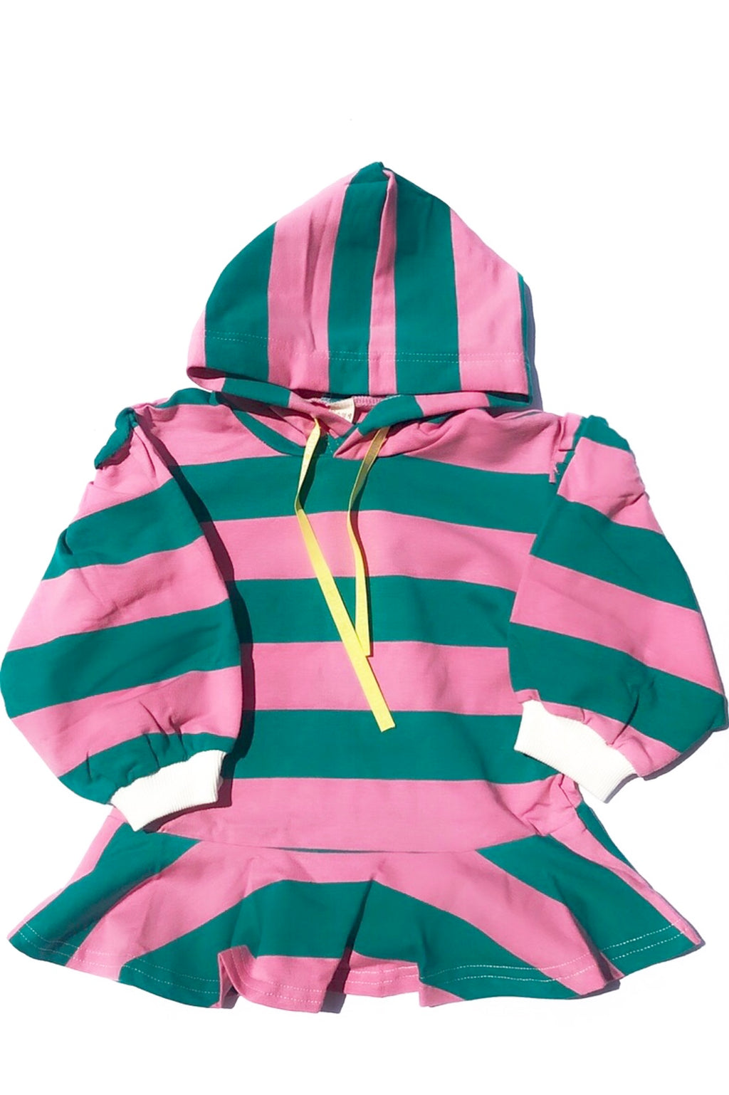 PRETTY IN PINK & GREEN HOODIE