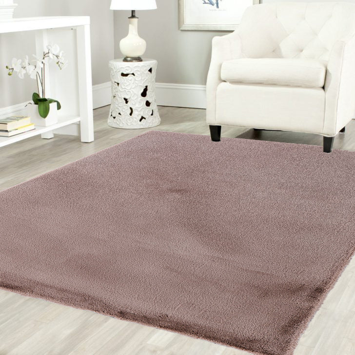 Koala Pony Ultra Soft Faux Fur Luxurious Modern Rug Floor Mat