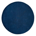 Wedgwood Folia Round Navy 38308