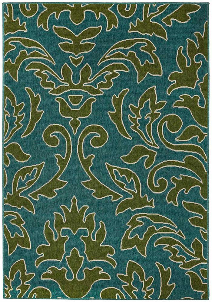 Alfresco-Aspen Damask Outdoor Rug-RUG HOME