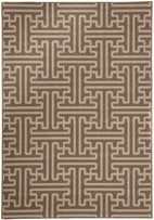 Alfresco-Seville Geo Natural Oudoor Rug-RUG HOME