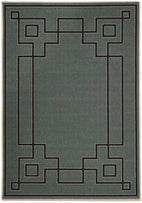 Alfresco-Shanghai Teal Outdoor Rug-RUG HOME