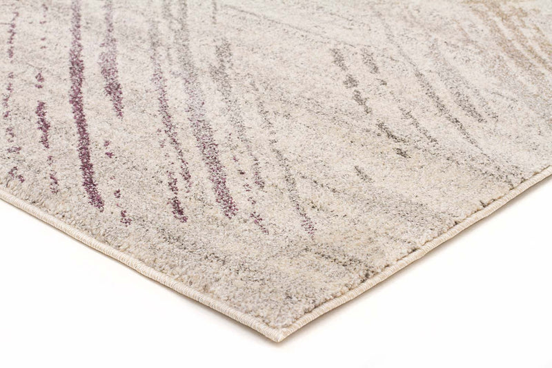 Aspect-Riverside Jagged Aubergine Rug-RUG HOME