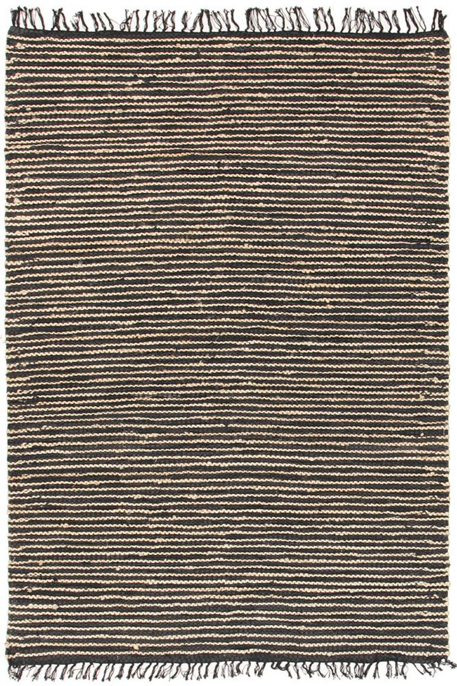 Atrium-Bondi Leather and Jute Rug Natural Nude Pink-RUG HOME