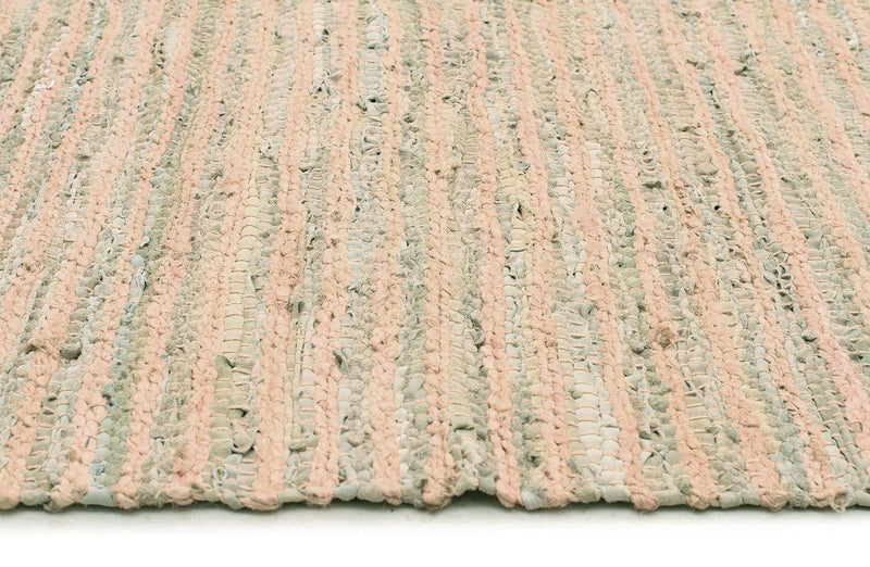 Atrium-Bondi Leather and Jute Rug Nude Pink-RUG HOME