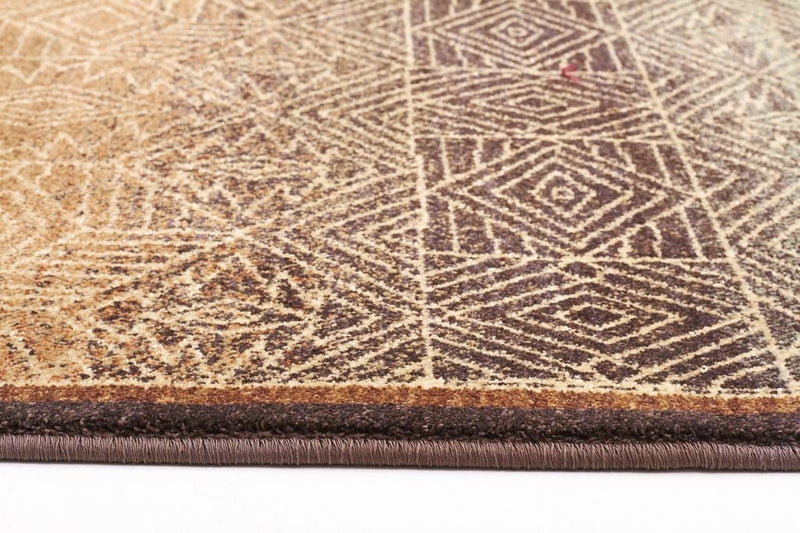 Byblos Modern-Tribal Design Rug Brown-RUG HOME