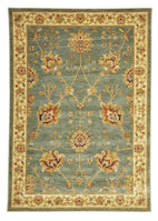 Byblos Traditional-Classic Chobi Design Rug Blue-RUG HOME