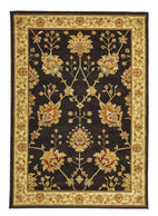Byblos Traditional-Classic Chobi Design Rug Brown-RUG HOME