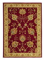 Byblos Traditional-Classic Chobi Design Rug Red-RUG HOME