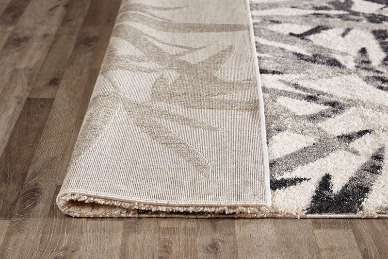 Capri-Palm Springs Natural and Grey Rug-RUG HOME