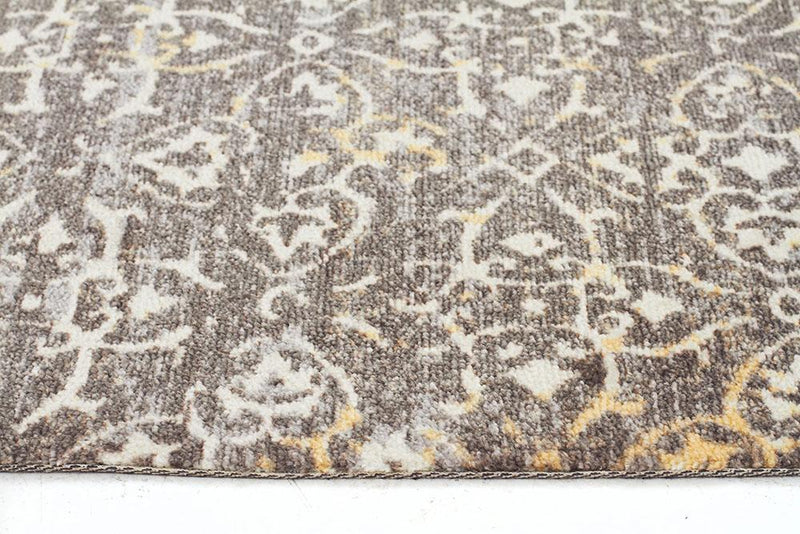 City-Faded Modern Brown Rug-RUG HOME